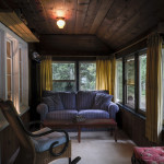 Enclosed Porch with Sofa Bed