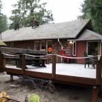Caddis 'back porch'